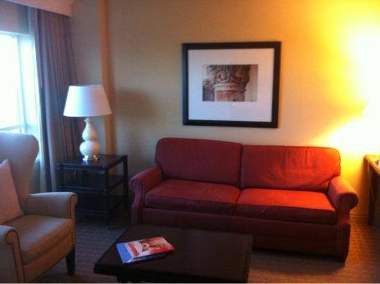 Sheraton Suites Plantation, Ft Lauderdale West: Living Room