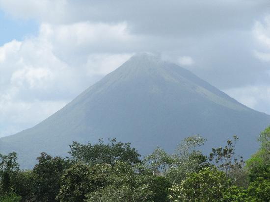 Arenal Volcano from Casona Rio Fortuna