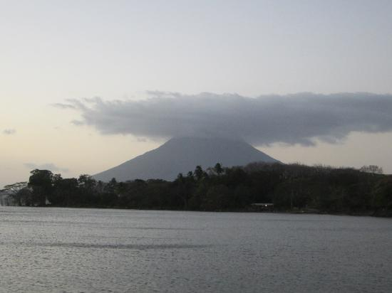 Hacienda Merida: View of Volcan Conception from the hotel