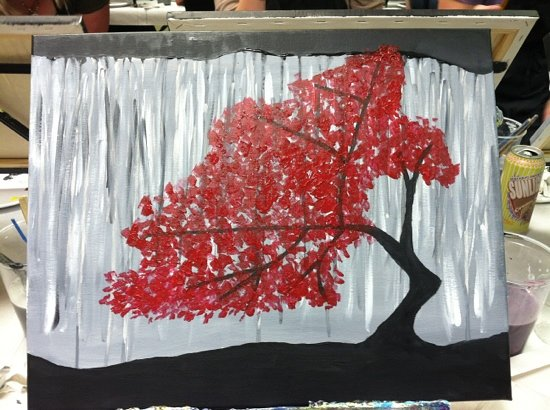 Wine and Canvas: First Wine & Canvas Experience