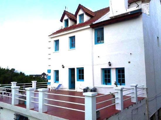 Hostel Pinamar: Terraza :)