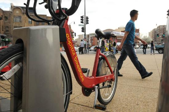 Adam's Inn: Nearby Capital Bikeshare station made forgetting the car possible