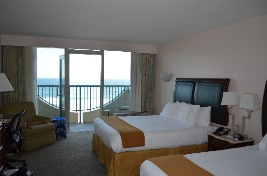 Holiday Inn Express Pensacola Beach: Look at the view!!