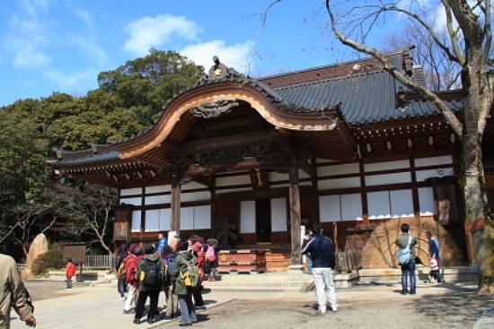 Jindai-ji Temple: 本堂