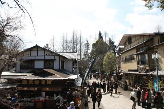 Jindai-ji Temple: 参道