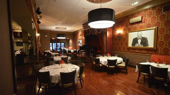 Walnut Street Supper Club: Check out the inside with stage! so classy