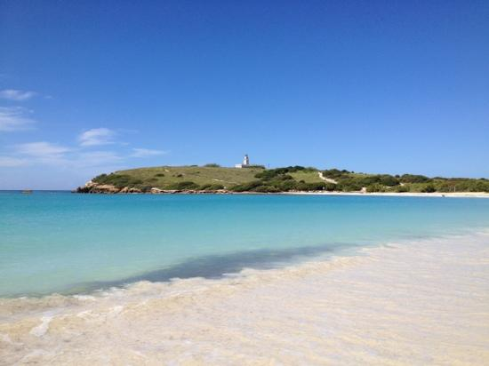 Playa Sucia: photo has NOT been altered, the beach is this beautiful