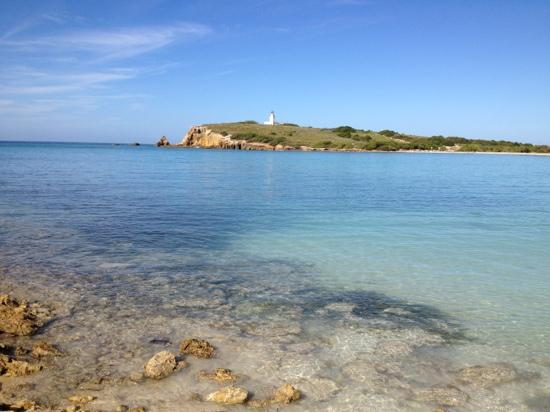 Playa Sucia: view from the further point