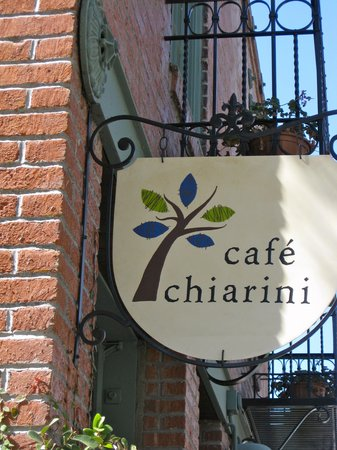 Cafe Chiarini : Outdoors/sign