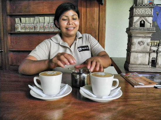 Backpackers Inn: Our favorite Cappuccino