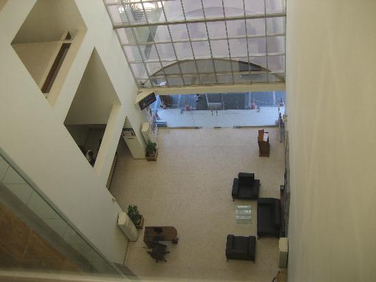 Cambay Sapphire: reception area from 4th floor