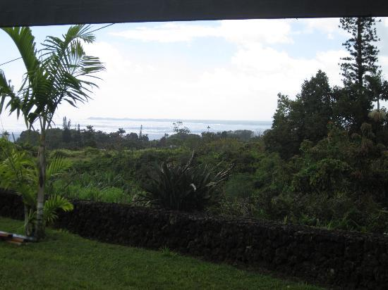 Island Goode's: View of Hilo Bay from our room