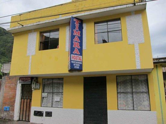 Hostal Timara: The hostel from the street / el hostal de la calle