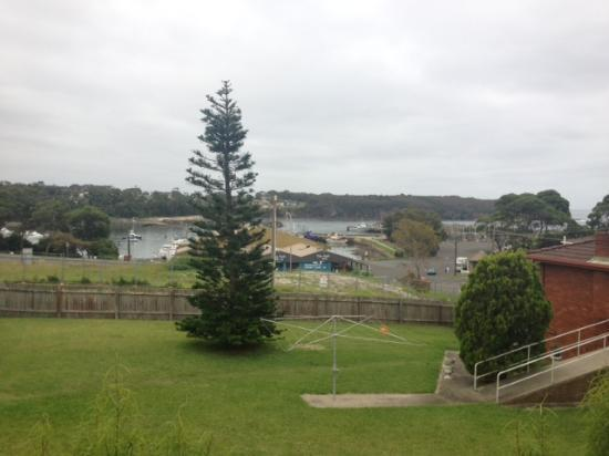 Harbour Royal Motel: view from room ( balcony)
