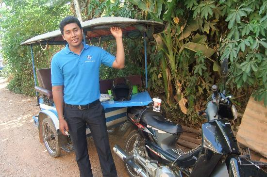MotherHome Guesthouse: MH has nice and frindly tuktuk driver