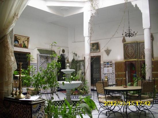 Riad Chennaoui Marrakech: Salón de té