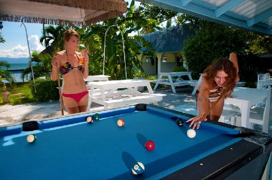 Beach Resort Hacienda: Free Pool Table