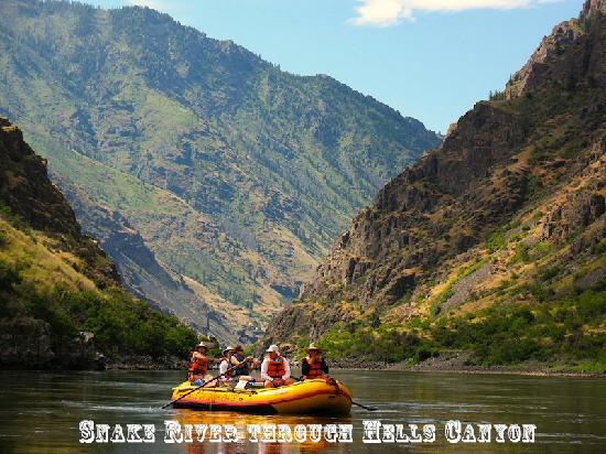 Winding Waters River Expeditions & Day Tours: Hells Canyon Whitewater Trips
