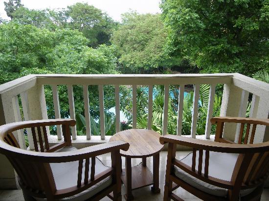 Hotel Kumala Pantai: Outlook from balcony block B