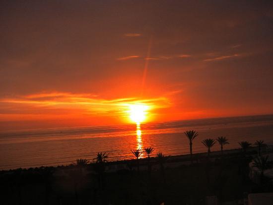 IBEROSTAR Royal El Mansour & Thalasso: levé du soleil à 6h du matin