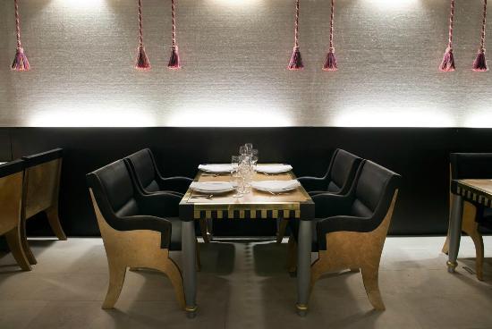 foto de tarquino restaurante buenos aires paredes con