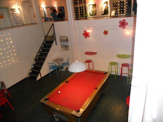 Sleep in Heaven: The pool table