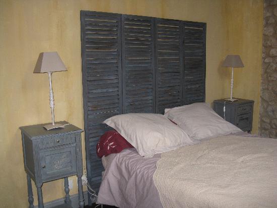 Domaine de Ginouilhac: camera matrimoniale