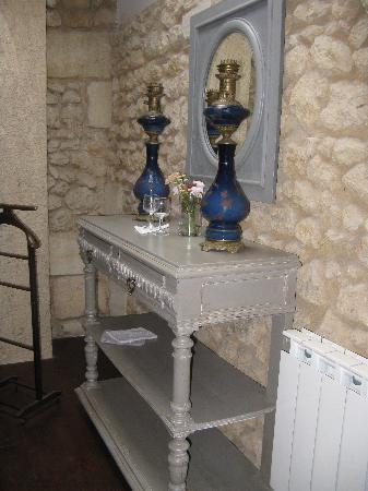 Domaine de Ginouilhac: particolare della camera