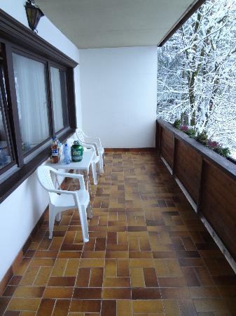 Landhaus Roscher: The balcony