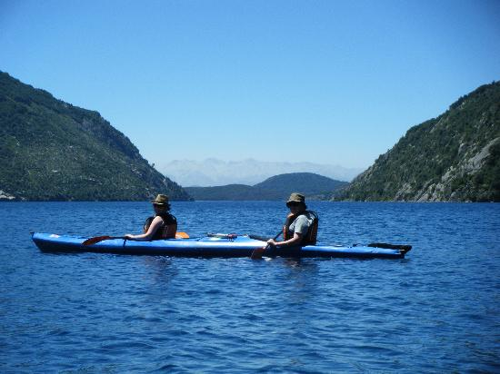 Andescross: First day in the Kayak