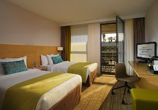 Courtyard by Marriott Montpellier: Superior Twin Room