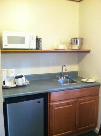 Alpenrose Inn: Kitchenette. No Stove