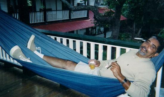 Hacienda Gripinas: papi en jamaca