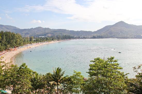Kamala Beach: amazing view