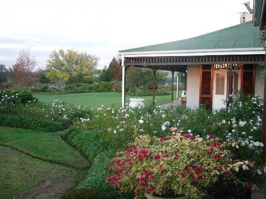 Hoopenburg Guest House: Gorgeous garden