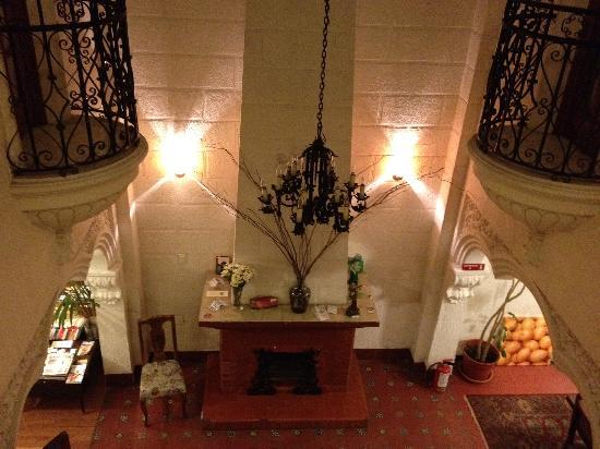 Condesa Haus: vue depuis l'étage