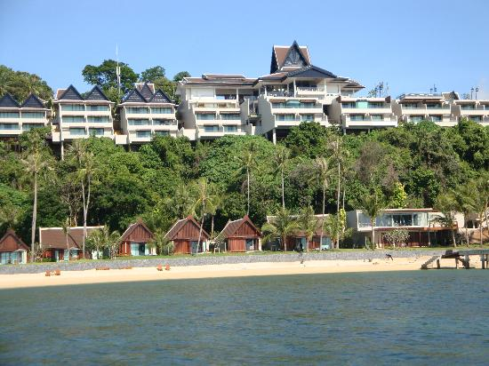 InterContinental Samui Baan Taling Ngam Resort: view from the water leaving the resort