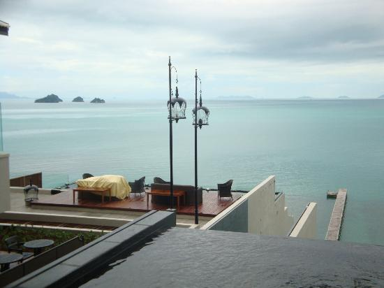InterContinental Samui Baan Taling Ngam Resort: view from the lobby
