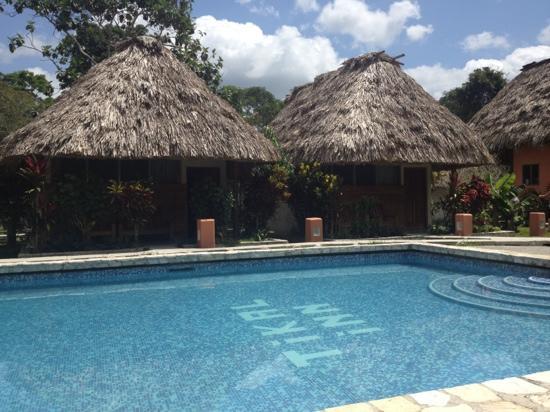 Black Rock Lodge: The pool at Tikal Inn.
