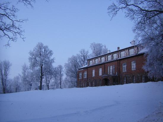 Piena Muiza - Berghof : Winter view