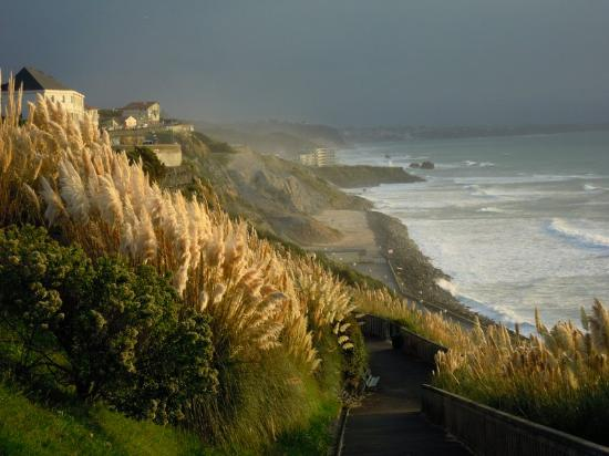 La Côte des Basques : Biarritz e le sue brume
