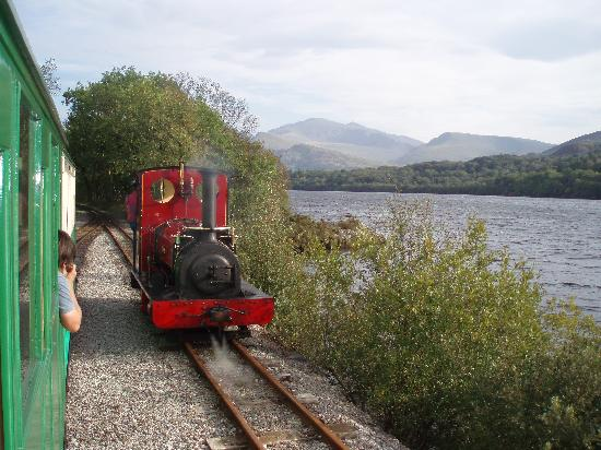 Tregarth Homestay B&B: Lake Padarn  Railway