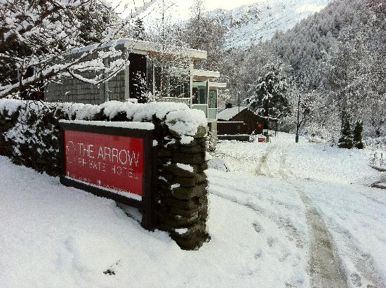 Winter wonderland at The Arrow Private Hotel