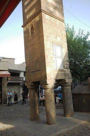 Diyarbakir, Turkey: Dört Ayaklı Minare