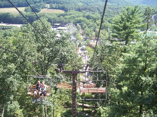 Knoebels Campground: View from skyride
