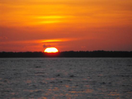 Sunset from Kizingo Bar