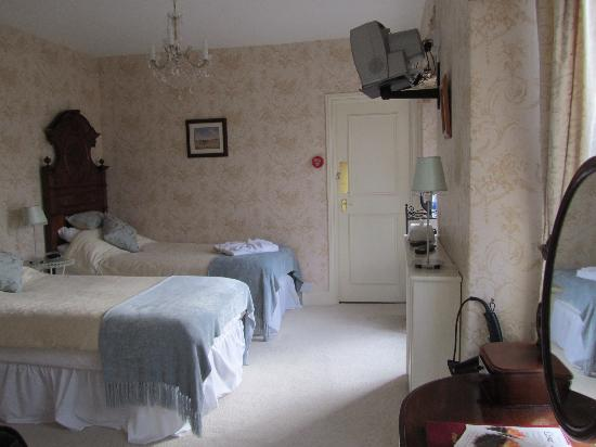 Bryn Artro Country House : twin room at front of house