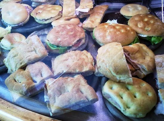 Caffe Michelangiolo : Focacce e panini