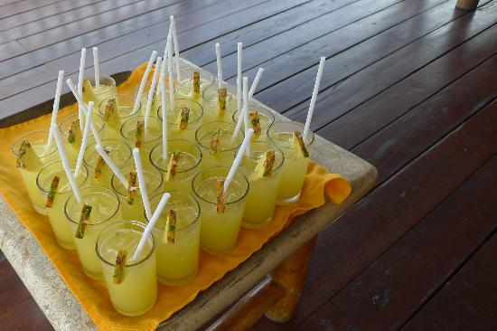 Pearl Farm Beach Resort: Refreshing Welcome Drinks