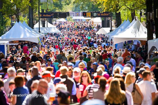 Гринвилл, Южная Каролина: Greenville enjoys over 300 event days each year
